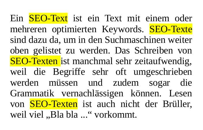 SEO-Texte schreiben